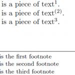 چگونه به صورت اتوماتیک پرانتزهای اعداد پاورقی را حذف کنیم؟